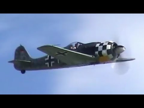 Focke Wulf 190 Flugwerk A8/N AWESOME SOUND !!!