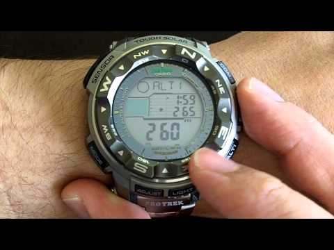 Casio Protrek Triple Sensor Tough Solar PRG250T / PRW2500T