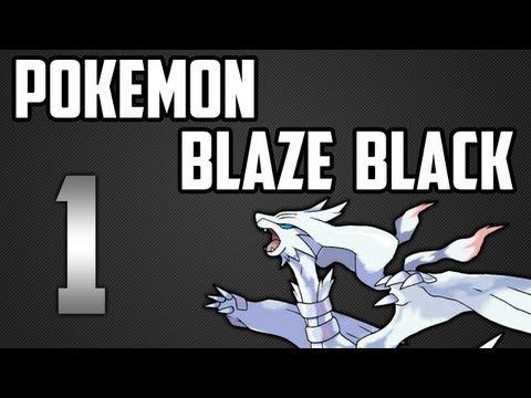 Pokemon Blaze Black - Episode 1 - The Hacked Unova Region Journey Begins!