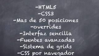 1/4 Introducción como crear un sitio web Joomla HTML5 con Gantry
