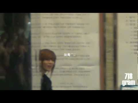 llO323 Taemin cute peek-a-boo fancam @$uK!ra