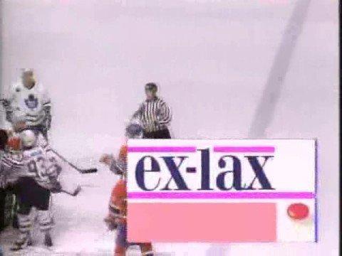 La publicité au Hockey - Bleu Poudre