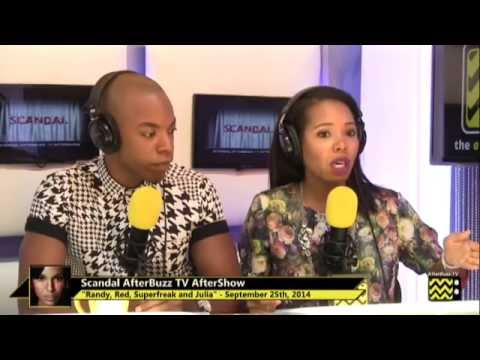 """Scandal After Show Season 4 Episode 1 """"Randy, Red, Superfreak, and Julia"""" 