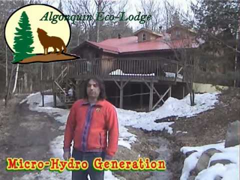12 kW Micro-Hydro Turbines - Algonquin Eco-Lodge