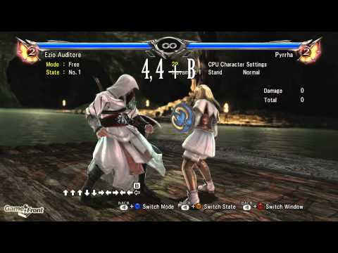 Soul Calibur 5 Character Guide - Ezio Auditore