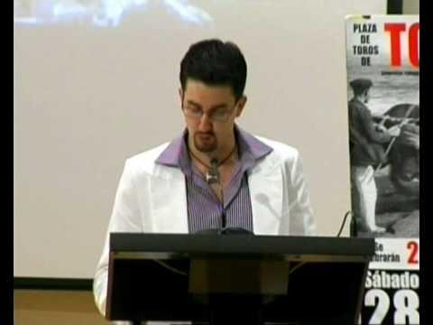 Presentación Carteles Taurinos por José Daniel Rojo