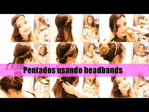 HEADBANDS- penteados fáceis e rápidos de fazer