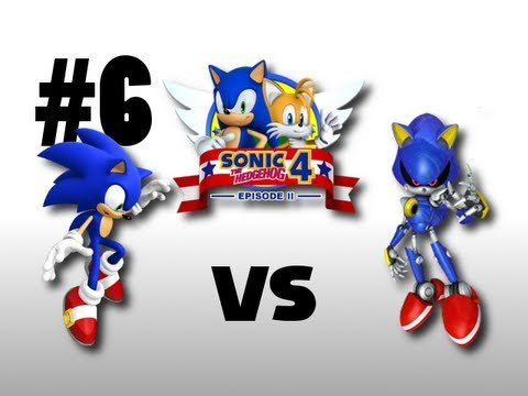 Sonic the Hedgehog 4 - Episode 2 - Sonic vs. Metal Sonic - BOSS (Xbox 360)