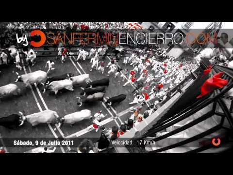 Encierro 9 de Julio 2011 - Dolores Aguirre