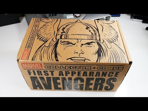 Unboxing Marvel Avengers Subscription Box - UCRg2tBkpKYDxOKtX3GvLZcQ