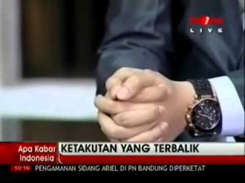 KETAKUTAN YANG TERBALIK part 3- Wahyu Winoto & Bong Chandra @ Apa Kabar Indonesia TV One