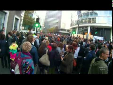 -Snatch Squads- Caught On Camera At London Student Rally