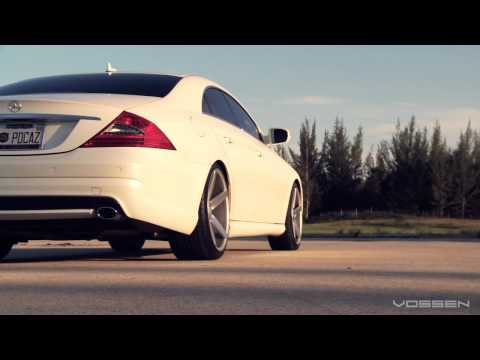 "Mercedes Benz CLS500 on 20"" Vossen VVS-CV3 Concave Wheels / Rims"