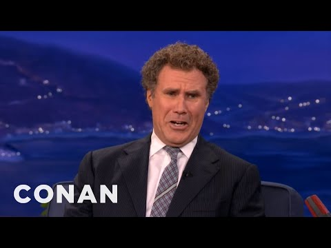 Will Ferrell Is All Busted Up Over Twilight's Kristen Stewart & Robert Pattinson - CONAN on TBS