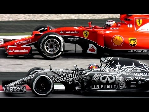 Formula 1 (F1) Ferrari vs Mclaren vs Redbull vs Mercedes - Test Day #5