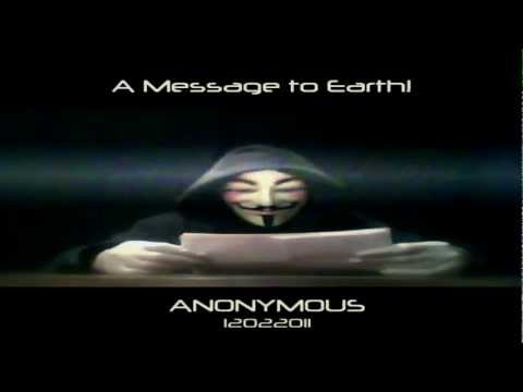 ANONYMOUS - A MESSAGE TO THE WORLD!