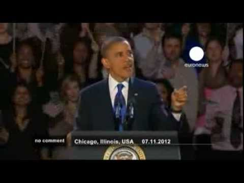 Barack Obama's Victory speech - no comment