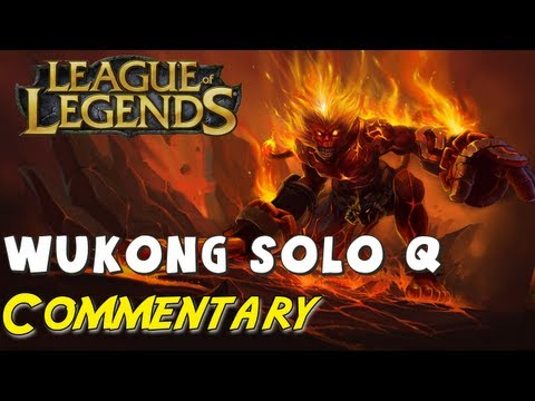 League of Legends - Wukong Full Game Commentary