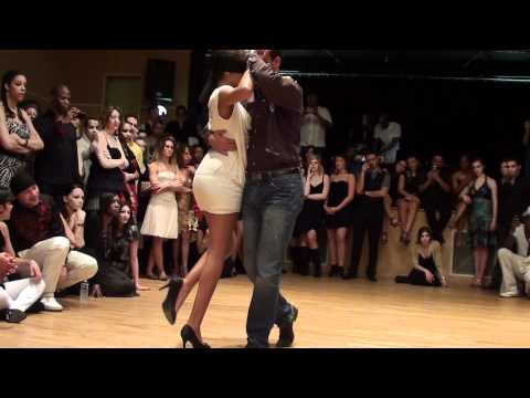 démo Kizomba Georges & Laura center parc