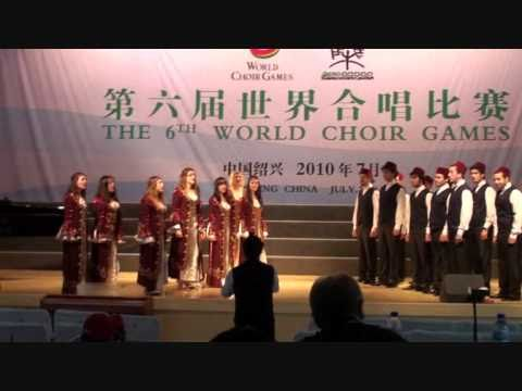 BUMC Jazz Choir - Bir Dalda Iki Elma (World Choir Games 2010, CHINA)