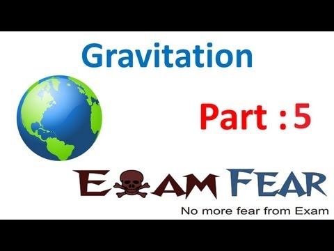 Physics Gravitation Part 5 (Acceleration due to gravity above Earth Surface) CBSE class 11 XI