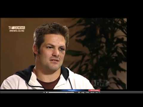 Richie McCaw - on Campbell Live