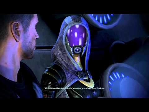 Mass Effect 3 Gameplay Part 98 - Romancing Tali, Tali's Picture And Sex Scene, HD1080p