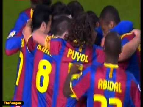 Amazing free-kick Lionel Messi ! Deportivo vs Barcelona (0-2)