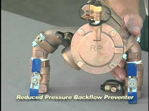 Sprinkler Backflow Preventer