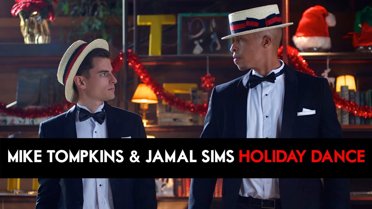 Mike Tompkins & Jamal Sims Give Back - HOLIDAY DANCE for Charity! [DS2DIO]