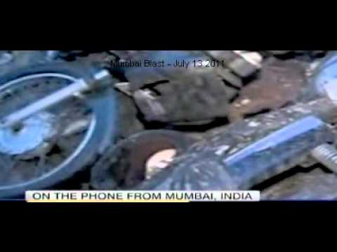 Mumbai Blast 07-13-2011 (Bombay blast july 13 2011) - as seen in news channel