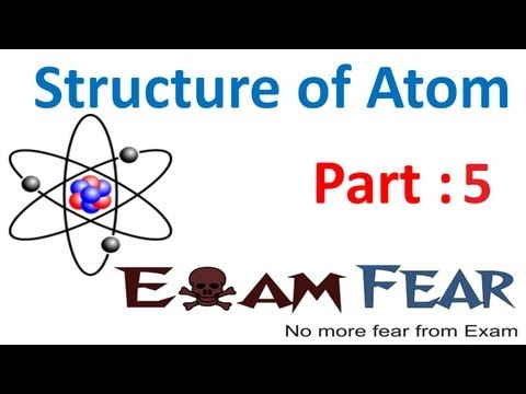 Chemistry Structure of Atom part 5 (Milikan experiment to find electron mass) CBSE class 11 XI