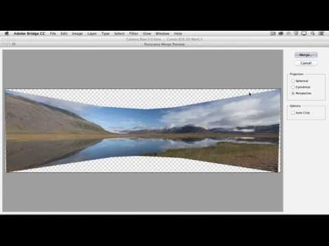 Create a Panorama in Camera Raw