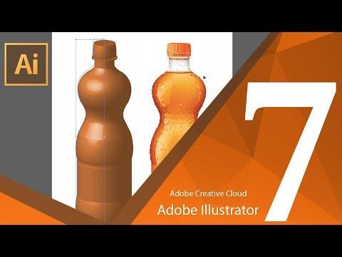 تعلم أدوبي أليستريتور للمبتدئين :: 3D Panel in Illustrator :: المحاضرة السابعة
