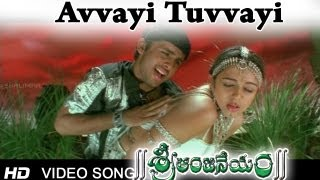 Sri Anjaneyam । Avvayi Tuvvayi Video Song