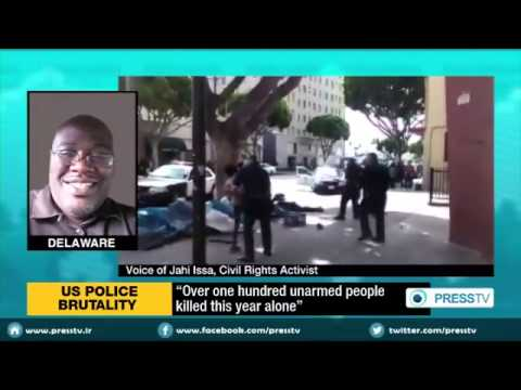 KKK  LA officer kills  homeless African American for no Reason