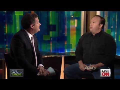 Alex Jones vs Piers Morgan On Gun Law Debate Live On CNN