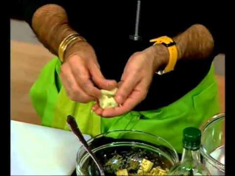 כדורי מחית תפוחי אדמה במילוי מוצרלה - ישראל אהרוני