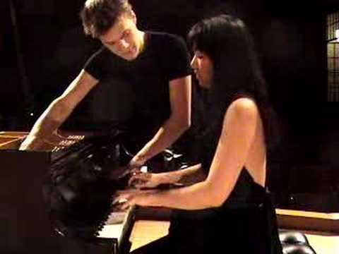 Anderson & Roe Piano Duo play LIBERTANGO (Piazzolla)