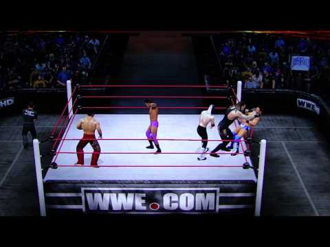 WWE '12: 10-Man Interpromotional Royal Rumble Match