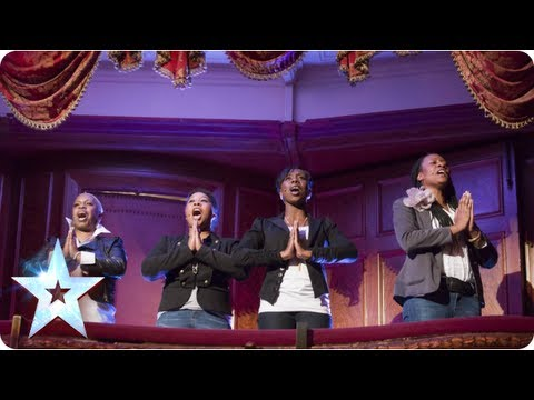 Incognito bring gospel to the BGT stage - Week 1 - Auditions | Britain's Got Talent 2013