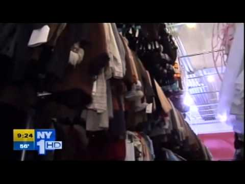 NY1 report on TDF Costume Collection opening at Kaufman Astoria Studios - part 2