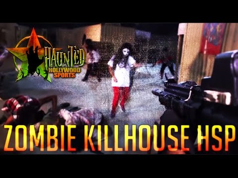 HOLLYWOOD SPORTS PARK ZOMBIE KILLHOUSE