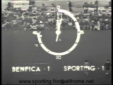 Sporting - 2 Benfica - 1 (ap) de 1973/1974 Final Taça Portugal