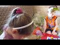 Фрагмент с средины видео - Семья Бровченко. Д.р. Ани 9 лет (ч.1). Дарим подарки, играем в фанты. (03.16г.)