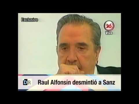 <b>Implacable.</b> La entrevista donde Alfons�n rechaza a Macri y deja mal parado a Sanz