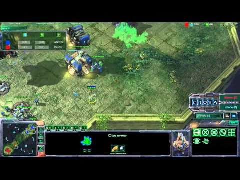 StarCraft 2 - SC313 - Morrow (T) vs Chobo (P) on Steppes of War