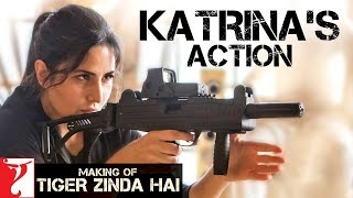 Making of Katrina's Action | Tiger Zinda Hai