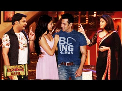 Salman Khan on Comedy Nights With Kapil - 26th July 2014 Full EPISODE - Salman Khan KICK