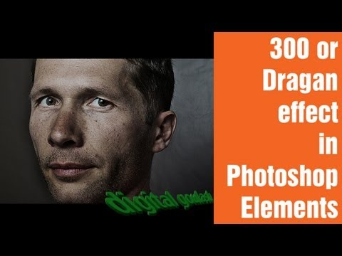 Learn Photoshop Elements - 300 or Dragan effect